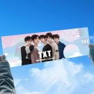 TXT Concert Support Sign Hand Banner Fabric Hang Up Fan's Gift Stationery Kpop Poster Print Wall Art