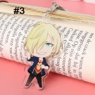 Yuri On Ice Acrylic Keychain Keyring Pendant Accessories Anime Japanese