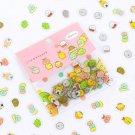 80 pcs Japanese Stationery Stickers Cute Cat Paper Kawaii Bear Decoration Diary Scrapbooking