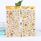 Kawaii Gudetama Lazy Egg Decorative Stickers Sanrio Japanese Cute DIY Scrapbooking Diary Album Label
