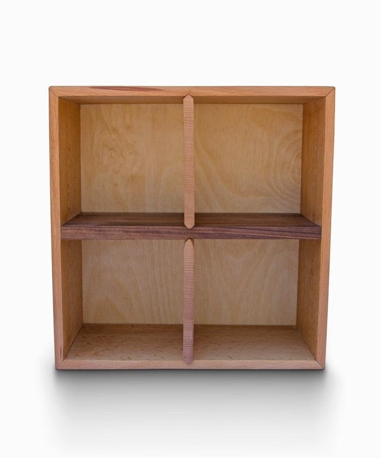 Sectional Storage Box - 4 Cabinet - WOODSAKA