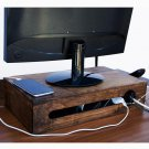 Reka - Desk Organizer - Monitor Stand - Modem Box - WOODSAKA