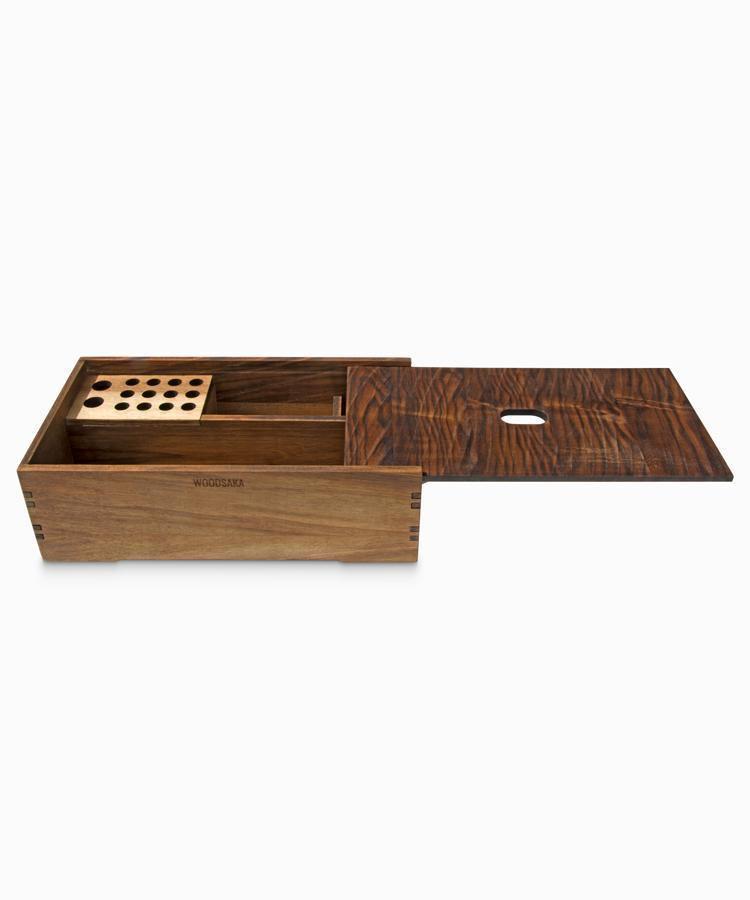 Reka - Covered Desk Organiser - WOODSAKA