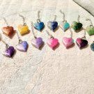 Color Fade heart keychain
