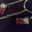 Christmas Gummy Bear Keychain Gummibar Keyholder Accessories