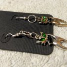Halloween Earrings Set Dangle Jewelry Black Cat