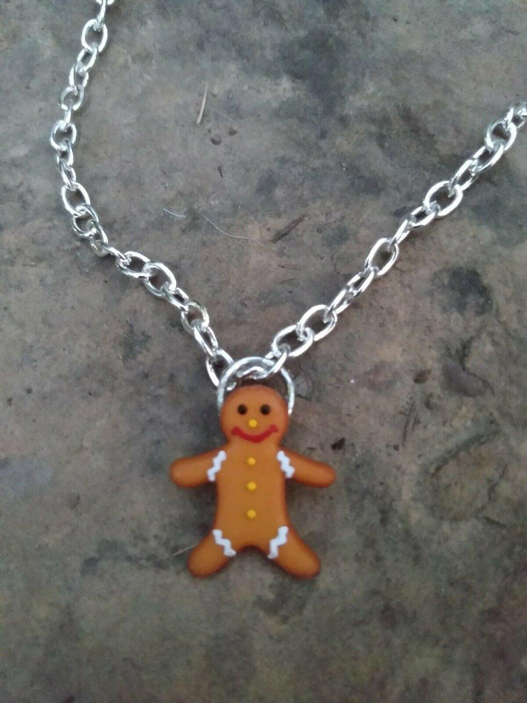 Women Boot Bracelet Silver Metal Chain gingerbread Ornament Anklet Shoe Charm