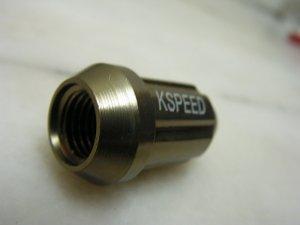 K-Speed lug nuts