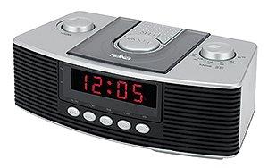 NAXA Digital Alarm Clock with am/fm radio & Snooze