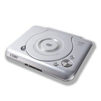 Coby DVD-209 Ultra Compact DVD Player - Plays DVD Video, CD Video, CD Audio and CD