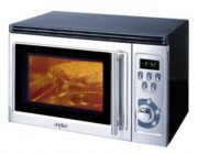 Sanyo 0.8 cu. ft. Microwave Oven With Built-In Grill, Stainless Steel