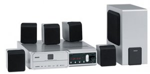 RCA RTD209 250 Watts 5-Disc DVD/CD Home Theater System