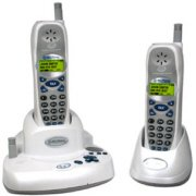 Northwestern Bell 5.8 GHz Cordless DSS Telephones Set With Digital Answering System