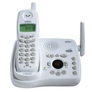 V-Tech VT2453 2.4GHz Cordless Telephone with Caller ID and Digital Answering Device in White