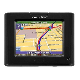 """Nextar P3 - 3.5"""" color display with touch screen Navigation System"""