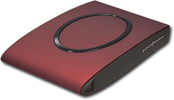 SimpleTech - Signature Mini 320GB External Hard Drive - Dark Red Black Cherry