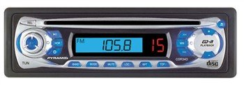 Pyramid CDR34D AM/FM Receiver Auto Loading CD Player