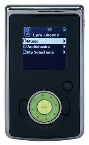 RCA LYRA H100 4 GB Hard Drive Lyra Audio Player
