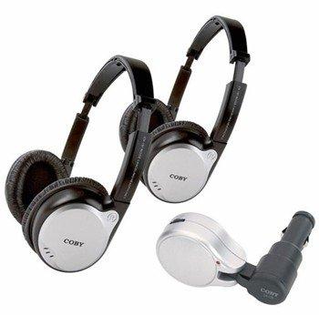 Coby CV-870 Wireless Headphone - Wireless Connectivity