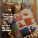 ~ ~ HOOKED ON CROCHET MAGAZINE ~ #2 ~ MAR/APR 1987 ~ EXCELLENT PATTERNS ~ ~ ~