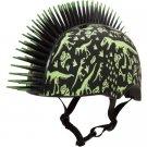 Raskullz Digital Camo Mohawk Bike & Board Helmet