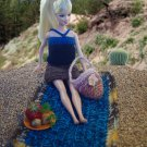 hand knitted picnic outfit for Barbie | most for least price deal! | ooak | PERFECT GIFT