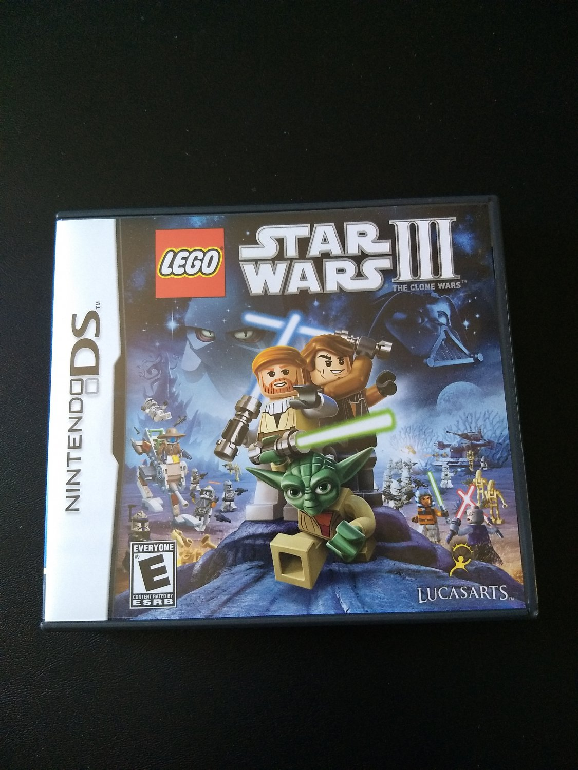 Lego Star Wars III DS (Case and Manual Only!)