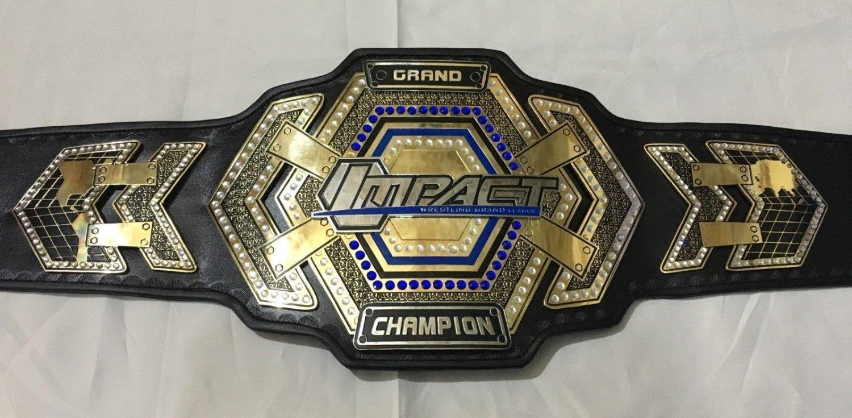 TNA Grand Impact Heavyweight Wrestling Championship Title Belt Adult Size