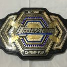 TNA Grand Impact Heavyweight Wrestling Championship Title Belt Adult Size
