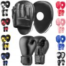BOXING PADS AND SPARRING GLOVES SET Punching Hook Jabs MMA Mitts Punch Training / 1 of 2 Pages