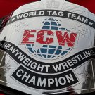 ECW CLASSIC TAG TEAM CHAMPIONSHIP TITLE BELT IN 4MM THICK BRASS PLATES ADULT SIZE