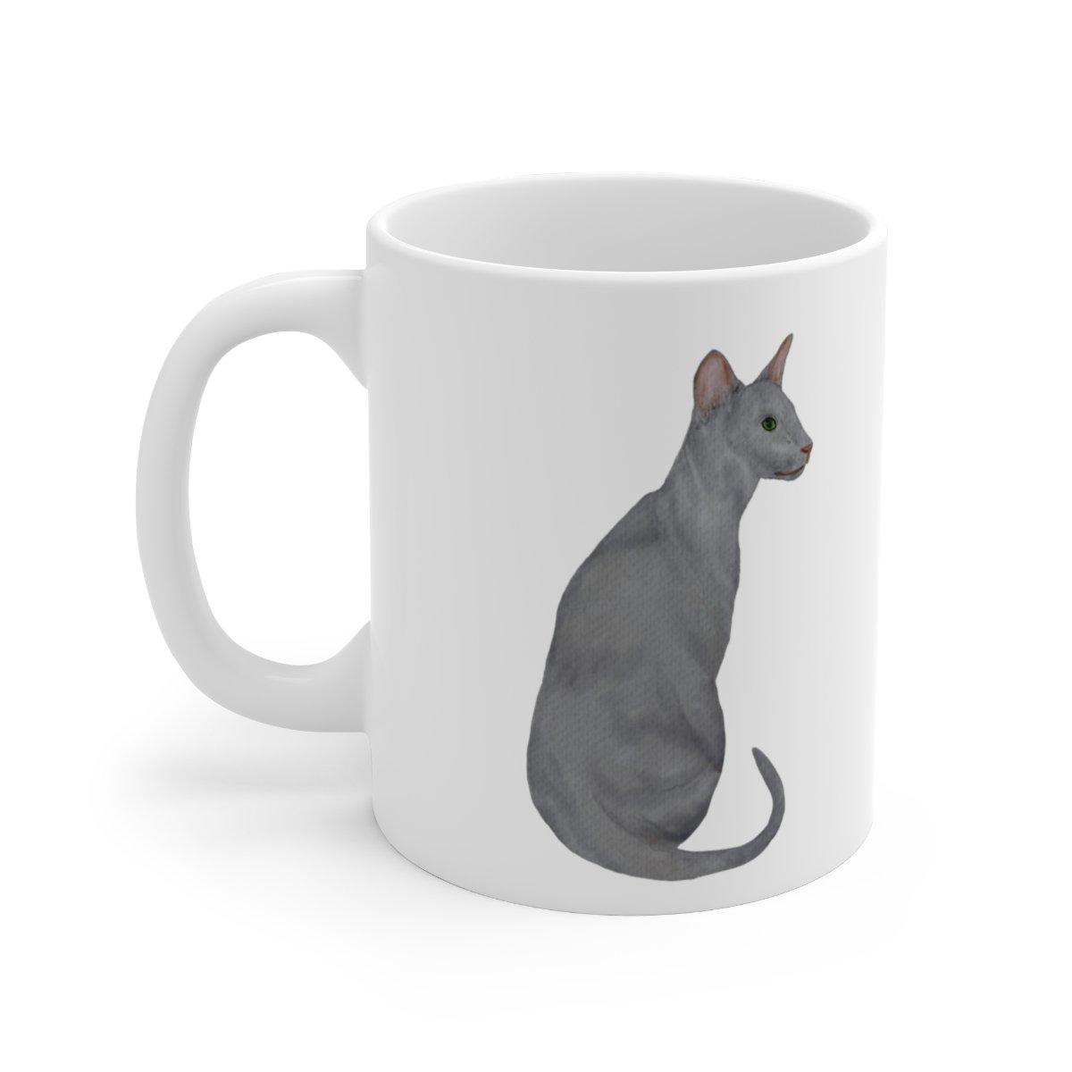CERAMIC 11oz MUG - CAT STYLE #1662  Item #739537