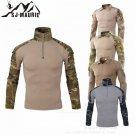 Hunting Base Layers ID56 Men T Shirts Camping Outdoor Sports Top Tees Mens Clothing Long Sleeve Hunt