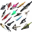 Hunting Bow Arrow ID37 1pcs 100gn-125gn Arrows Tips Arrow Heads for Archery Hunting Apply to Composi