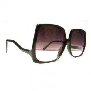Big Black Sunglasses Vintage 80's like Nicole Richie and Mary Kate Olsen