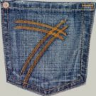 7 Seven For All Mankind Jeans DOJO Size 27 New Retails for $165