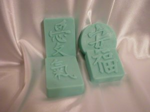 CHINESE SYMBOL SOAPS