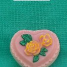 HEART WITH FLOWERS SOAP