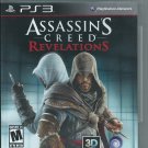 Assassin's Creed: Revelations (Sony PlayStation 3) No manual.