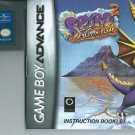 Spyro 2: Season of Flame (Nintendo Game Boy Advance, 2002)