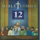 Bible Stories - 12 Movies (Animated) (2-Disc DVD Set, 2013) New.