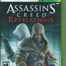 Assassin's Creed: Revelations (Microsoft Xbox 360, 2011) Complete.