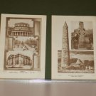 1932 Ireland Prints of Dublin, Cormacs Cathederal and others