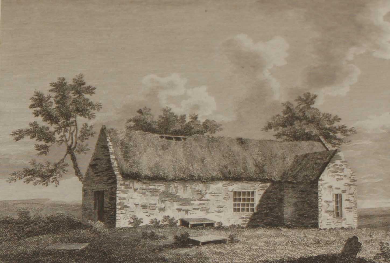 1797 Antique Print Ardglass Church County Carlow Ireland