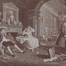 William Hogarth Marriage A La Mode Circa 1880