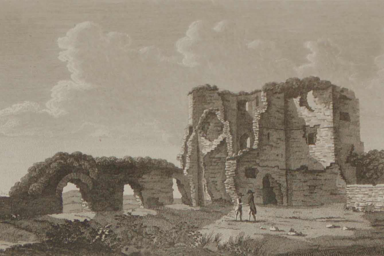 1797 Antique Print Tower of Ballintubber Mayo Ireland