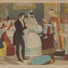 Le Marriage Vintage French Art Print Mourlot 1944