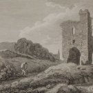1797 Antique Print Melifont Castle County Louth Ireland