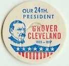 Grover Cleveland 24th PRESIDENT MILK BOTTLE CAPS pLs24S Quantities Available read more . . . .