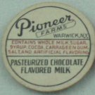 PIONEER FARMS, WARWICK, NY, CHOCOLATE FLAVORED, MILK BOTTLE CAPS, Mc36-Quantities avail